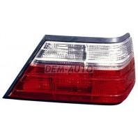 W124 Фонарь задний внешний правый тюнинг прозрачный хрустальный красно-белый