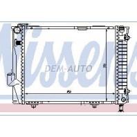 W124 Радиатор охлаждения(см.каталог)