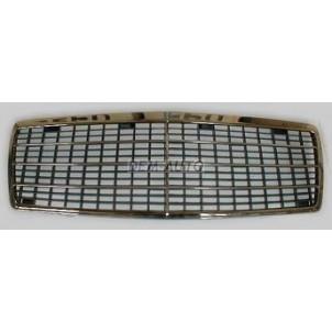 W140 {300-500} Решетка радиатора в сборе с рамкой 7 молдингов хромированно-черная{300-500} для Mercedes - W140 sedan