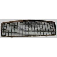 W140 {300-500} Решетка радиатора в сборе с рамкой 7 молдингов хромированно-черная{300-500}
