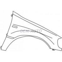 W163/ml Крыло переднее правое с отверстием под повторитель (оригинал)