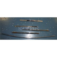 W163/ml Молдинг решетки радиатора (5шт) (комплект) тюнинг хромированный