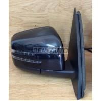 W166/ml  Зеркало правое электрическое с подогревом  с указателем поворота с подсветкой автоскладывающееся с памятью SIDE ASSIST (ASPHERICAL) (Китай)