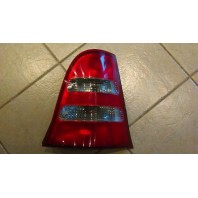 W168/a Фонарь задний внешний левый красно-хромированный