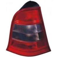 W168/a Фонарь задний внешний левый тонированный красно-хромированный