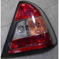 W202 Фонарь задний внешний левый+правый (комплект) тюнинг прозрачный хрустальный тонированный красно-белый
