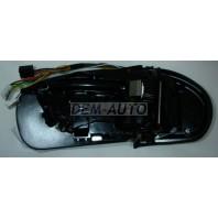 W203 Зеркало правое электрическое с подогревом автоскладывающееся с памятью без крышки (ASPHERICAL)