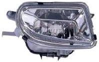 W210  Фара противотуманная левая+правая (комплект) тюнинг прозрачная хрустальная