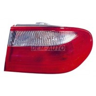 W210  Фонарь задний внешний правый красно-белый