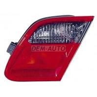 W210 Фонарь задний внутренний левый красно-тонированный