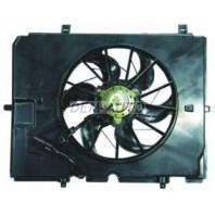 W210 Мотор+вентилятор радиатора охлаждения с корпусом (Bosch тип)