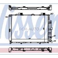 W210 Радиатор охлаждения (NISSENS) (см.каталог)