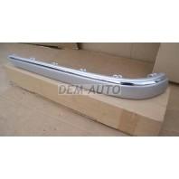 W211 Молдинг бампера заднего левый хромированно-серый