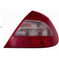 W211 Фонарь задний внешний левый+правый (комплект) тюнинг с диодами тонированный внутри красный