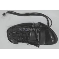 W220  Зеркало правое электрическое с подогревом автоскладывающееся с памятью 13 контактов без крышки (ASPHERICAL)