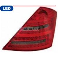 W221 Фонарь задний внешний левый+правый (комплект) тюнинг с диодами красно-тонированный