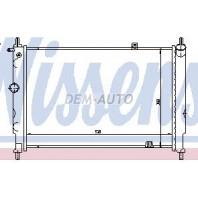 Astra  Радиатор охлаждения (NISSENS) (NRF) (GERI) АКПП без кондиционера 1.6i-2.0i