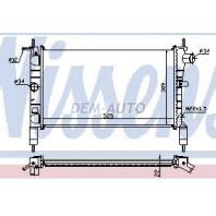 Astra  Радиатор охлаждения (см.каталог)