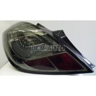 Corsa Фонарь задний внешний левый+правый (КОМПЛЕКТ) (5 дв) тюнинг с диодным указателем поворота тонированный (SONAR) внутри хромированный