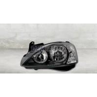 Corsa  Фара левая+правая (КОМПЛЕКТ) тюнинг с 2 светящимися ободками внутри черная