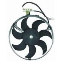 Omega Мотор+вентилятор конденсатора кондиционера с корпусом