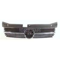 Omega  Решетка радиатора черная