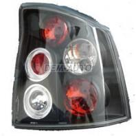 Vectra Фонарь задний внешний левый+правый (комплект) (седан) тюнинг прозрачный (LEXUS ТИП) внутри черная