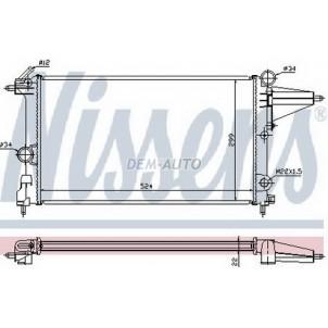 Vectra Радиатор охлаждения (см.каталог)