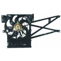 Vectra Мотор+вентилятор конденсатора кондиционера с корпусом
