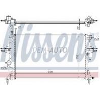 Astra {+zafira} Радиатор охлаждения (см.каталог)