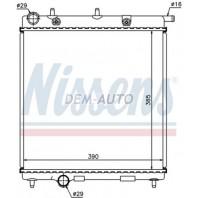 C3 {208 12-} Радиатор охлаждения(NISSENS)(см.каталог) механика