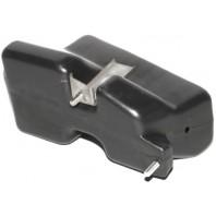405 Кронштейн усилителя бампера передний левый пластиковый