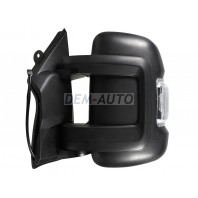 Boxer {ct jumper/fiat ducato}  Зеркало левое электрическое с подогревом указателем поворота , температурным датчиком (Китай)