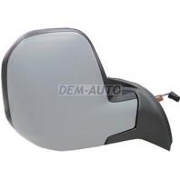 Berlingo {+ pg partner} Зеркало правое электрическое с подогревом , с температурным датчиком (convex) грунтованное