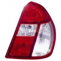 Clio {+simbol}  Фонарь задний внешний правый (4 дв) Красно-белый