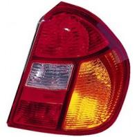 Clio {+simbol}  Фонарь задний внешний правый (4 дв) Красно-желтый