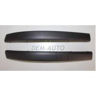 Clio  Молдинг бампера передний левый черный
