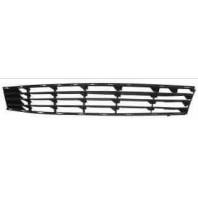 Clio  Решетка бампера передняя черная