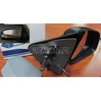 Logan {sandero}  Зеркало правое электрическое с подогревом,указателем поворота,температурным датчиком,грунтованная крышка (convex)