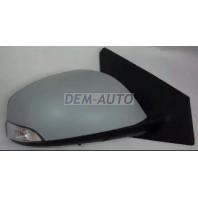 Megane  Зеркало правое электрическое с подогревом автоскладыванием (POLYWAY) (convex) грунтованное
