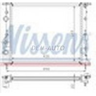 {+CLIO 98-05/SCENIC96-/KANGOO 98-/ LOGAN 04-} Радиатор охлаждения (см.каталог)