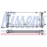 Toledo  Радиатор охлаждения (NISSENS) (см.каталог)