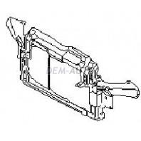 Суппорт радиатора одновентиляторный пластиковый