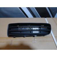 Octavia  Решетка бампера передняя левая черная
