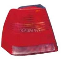 Bora  Фонарь задний внешний левый (DEPO) красно-белый