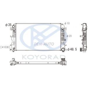 Sprinter {crafter 06-} Радиатор охлаждения (см.каталог) механика (KOYO) для Mercedes Sprinter - W906