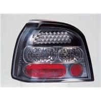 Golf  Фонарь задний внешний левый+правый (комплект) тюнинг прозрачный с диодами(SONAR)внутри черно-хромированный