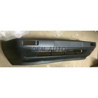 Golf {jetta}  Бампер передний без отверстий под противотуманки без усилителя с спойлером черный