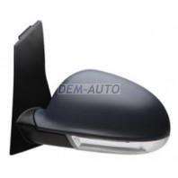 Golf plus  Зеркало левое электрическое с подогревом с указателем поворота грунтованное (aspherical)