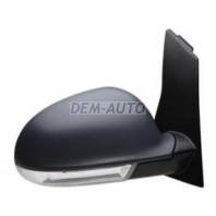 Golf plus  Зеркало правое электрическое с подогревом с указателем поворота грунтованное (convex)